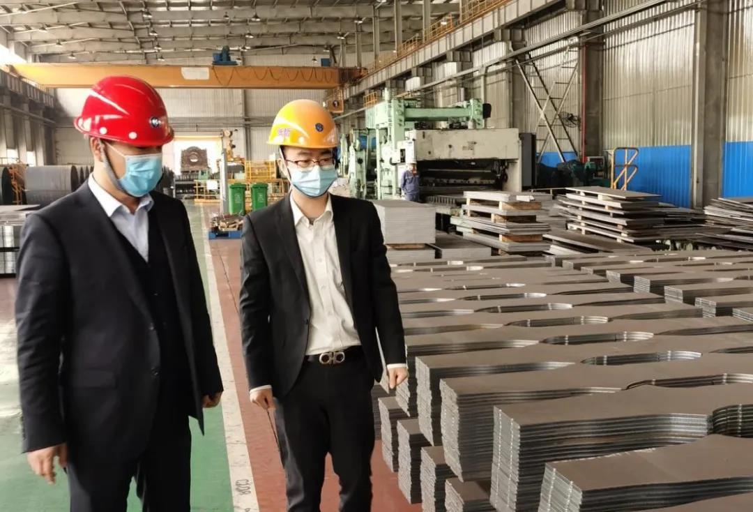 对标学习钢材加工配送 推动非钢产业高质量发展