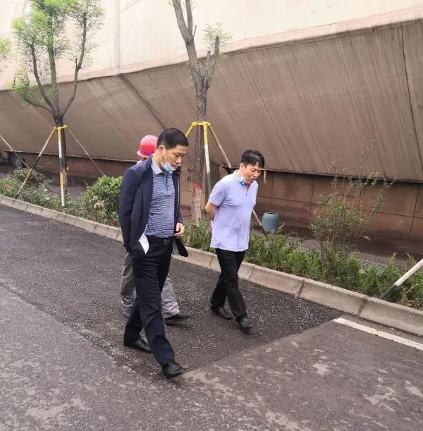 杨召朋调研督导重点项目建设