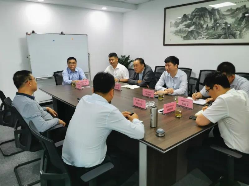 谋求钢材精深加工更快发展——刘志懿走访钢筋工程供应链服务商